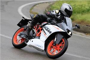KTM RC390 review, test ride