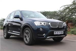 2014 BMW X3 facelift review, test drive