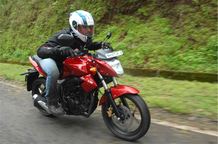 Suzuki Gixxer.