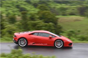 Lamborghini Huracan India review, test drive
