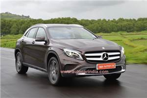 Mercedes-Benz GLA 200 India review, test drive