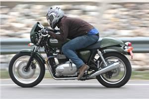 Triumph Thruxton review, test ride