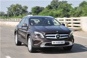 Mercedes-Benz GLA 200 CDI India review, test drive