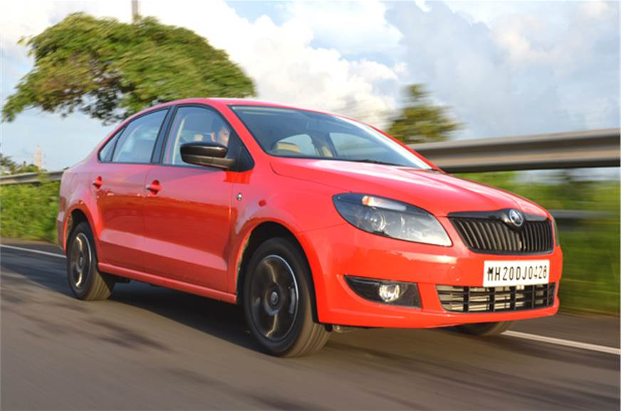 New Skoda Rapid diesel automatic.