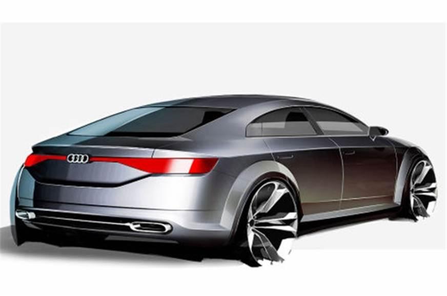 audi tt sportback concept revealed autocar india. Black Bedroom Furniture Sets. Home Design Ideas