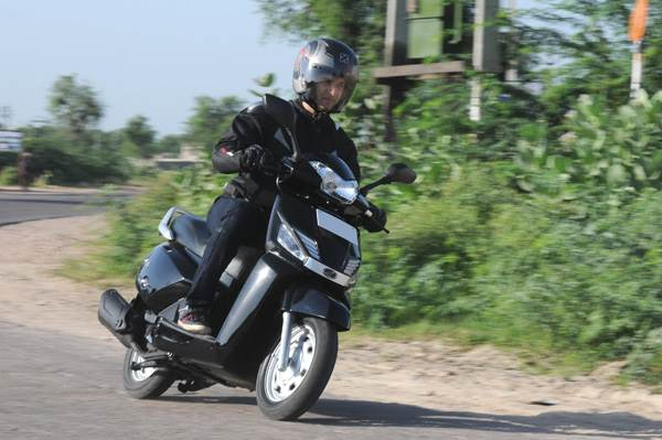 Mahindra Gusto review, test ride