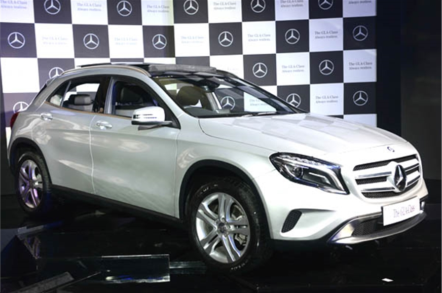Mercedes gla launched at rs lakh autocar india for Mercedes benz gla class india