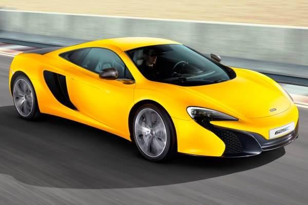 New McLaren 625C.