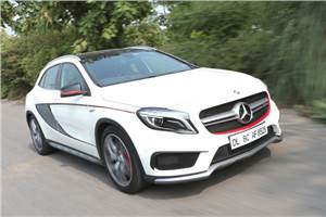 Mercedes GLA 45 AMG India review, test drive
