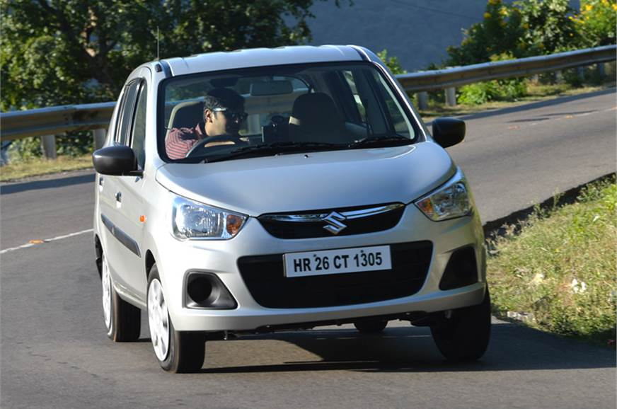 New Maruti Alto K10 also comes with an automatic gearbox.