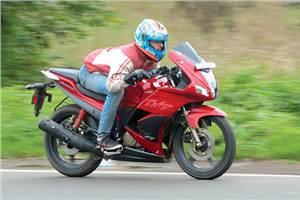 New Hero Karizma ZMR review, road test