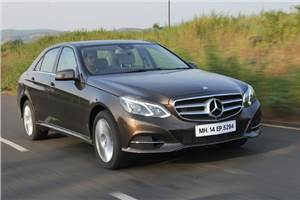 New Mercedes Benz E 350 CDI review, test drive