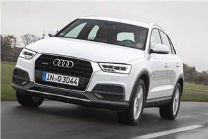 Audi Q3 facelift review, test drive