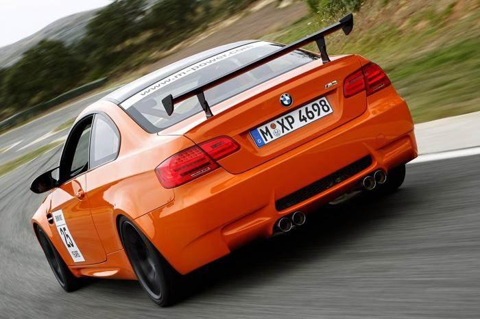 BMW M3 GTS shown.