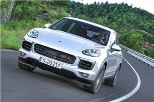 Porsche Cayenne facelift review, test drive