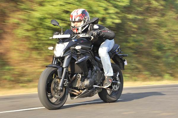 Kawasaki ER-6n review, test ride