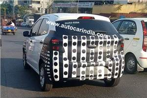 New Ford Figo hatchback spied in India
