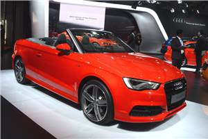 Audi A3 Cabriolet launch on December 11, 2014