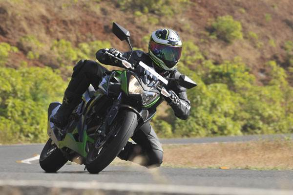 Kawasaki Z250 review, test ride