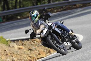 Triumph Tiger 800 XR, XC review, test ride