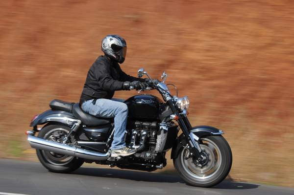 Triumph Rocket III review, test ride
