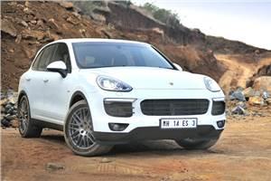 Porsche Cayenne facelift India review, test drive