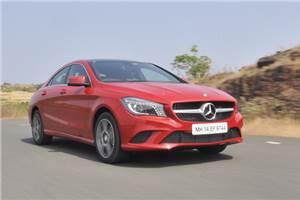 Mercedes-Benz CLA-class review, test drive