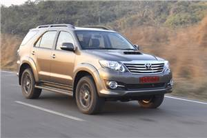 Toyota Fortuner 3.0 4WD automatic review, test drive