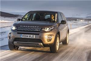 Land Rover Discovery Sport review, test drive