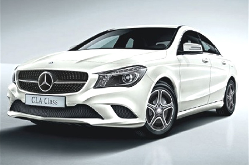 mercedes cla class sedan a look at features autocar india. Black Bedroom Furniture Sets. Home Design Ideas
