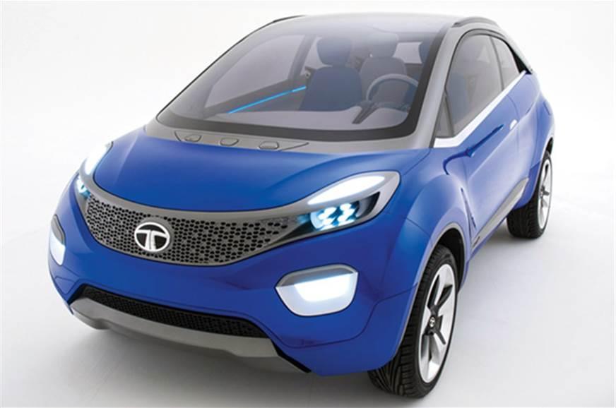 Tata Nexon compact SUV concept.