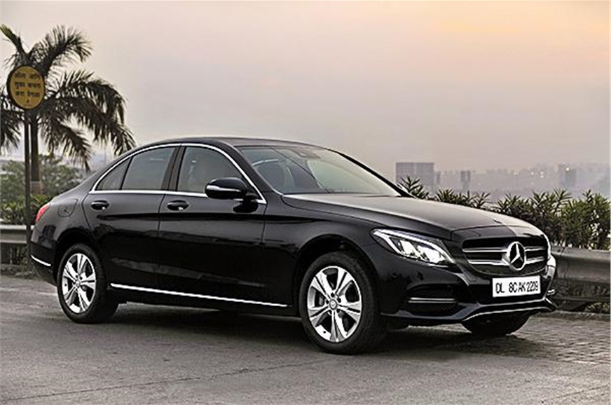 mercedes c class c 220 cdi diesel launched at rs 39 9 lakh autocar india. Black Bedroom Furniture Sets. Home Design Ideas