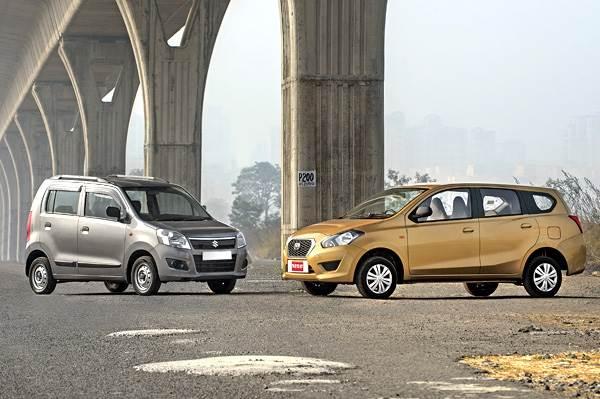 Datsun Go+ vs Maruti WagonR comparison - Autocar India