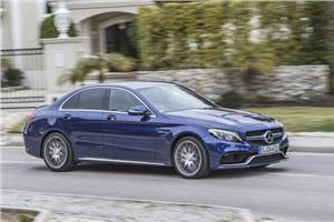 Mercedes-AMG C 63 S review, test drive