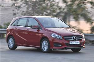 2015 Mercedes-Benz B 200 CDI India review, test drive