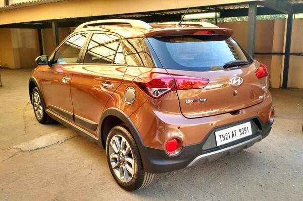 hyundai i20 active to get 190mm ground clearance autocar india. Black Bedroom Furniture Sets. Home Design Ideas
