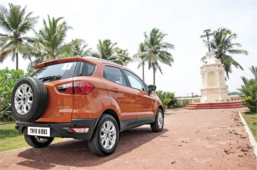 The big tank of the EcoSport makes it a car to be taken o...