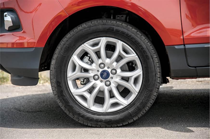 Brakes lack bite under hard braking.