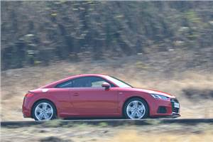 2015 Audi TT coupe review, test drive