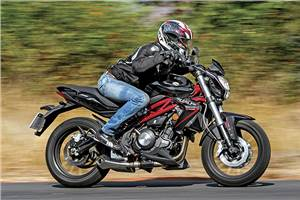 Benelli TNT 300 review, road test