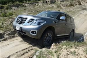 Nissan Patrol review, test drive