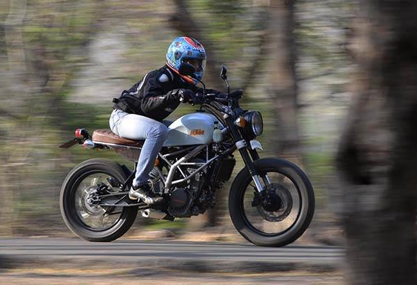 KTM 200 Duke 'Street Tracker' review, test ride