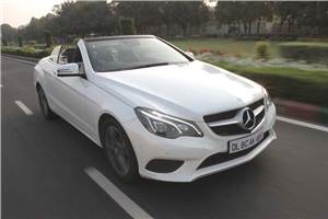 Mercedes-Benz E 400 Cabriolet review, test drive