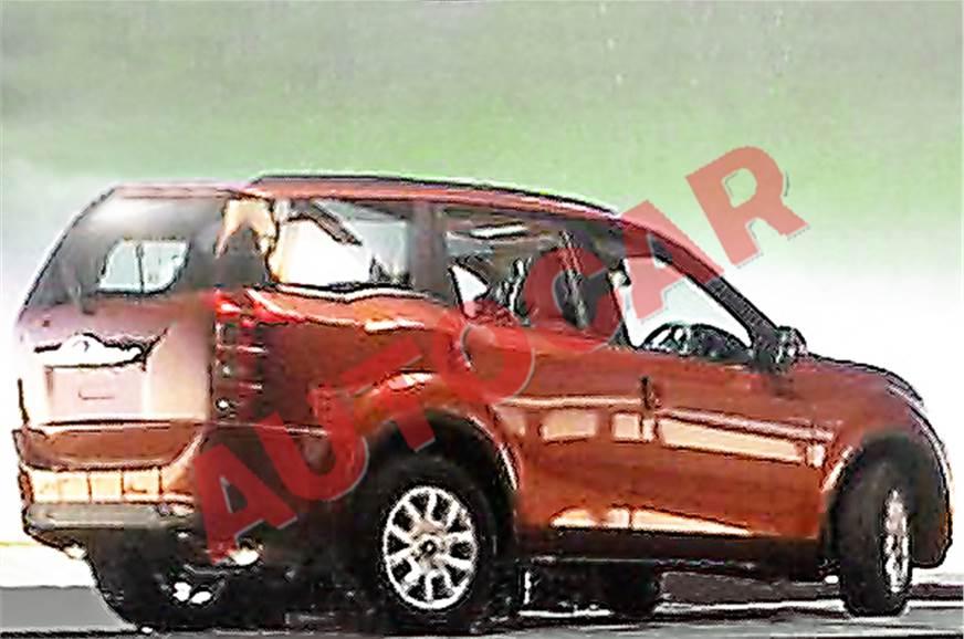 Mahindra XUV500 facelift.