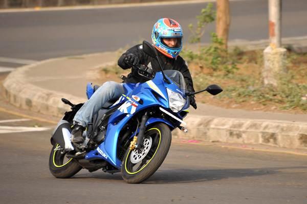 Suzuki Gixxer SF India review, test ride