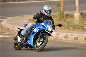 Suzuki Gixxer SF India review, test ride