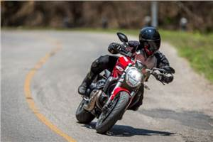Ducati Monster 821 review, test ride