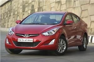Hyundai Elantra facelift review, test drive