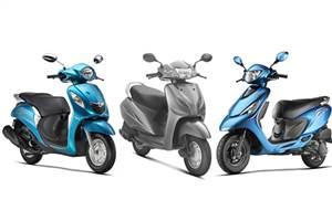 Yamaha Fascino vs rivals: Specs comparison