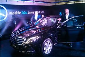 Mercedes-Benz S 600 Guard launched at Rs 8.9 crore